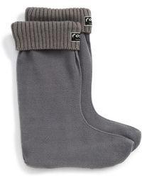 Roma - Knit Cuff Fleece Boot Socks - Lyst