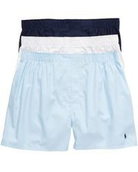 Polo Ralph Lauren - 3-pack Cotton Boxers - Lyst