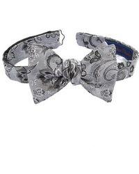 David Donahue   Paisley Silk Bow Tie   Lyst