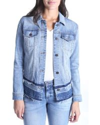Kut From The Kloth - Double Release Hem Denim Jacket - Lyst