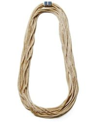 Lafayette 148 New York | Mesh Chain Multistrand Necklace | Lyst