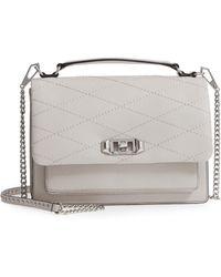 Rebecca Minkoff - Medium Je T'aime Convertible Leather Crossbody Bag - - Lyst