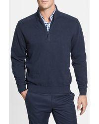 Cutter & Buck - 'broadview' Half Zip Sweater - Lyst