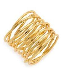 Gorjana | 'lola' Coil Ring | Lyst