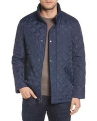 Cole Haan - Diamond Quilted Jacket - Lyst