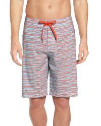 Prana - 'sediment' Stretch Board Shorts - Lyst