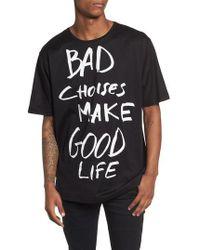 Antony Morato - Bad Choices Graphic T-shirt - Lyst