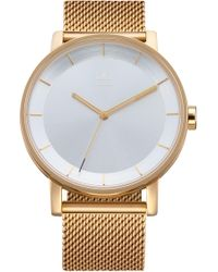 adidas - District Milanese Bracelet Watch - Lyst
