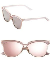 SUNNYSIDE LA - 61mm Mirorred Butterfly Sunglasses - - Lyst