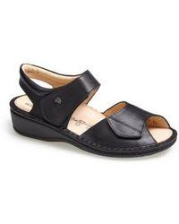 Finn Comfort | 'faro-s' Leather Sandal | Lyst