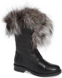 Sheridan Mia - Jam Genuine Fox Fur Bootie - Lyst