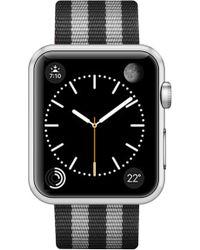 Casetify - Striped Nylon Apple Watch Strap - Lyst