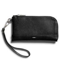 Shinola - Latigo Leather Wristlet - Lyst