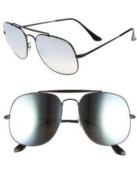 Ray-Ban - The General 57mm Aviator Sunglasses - Lyst