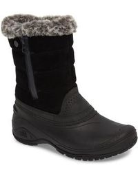 The North Face - Shellista Iii Waterproof Pull-on Snow Boot - Lyst