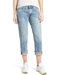 Citizens of Humanity - Emerson Crop Slim Fit Boyfriend Jeans - Lyst