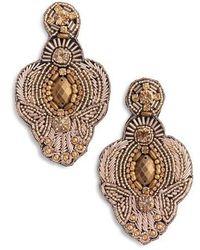 Tasha - Beaded Earrings - Lyst