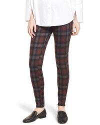 Hue - Brushed Plaid Cowgirl Leggings - Lyst