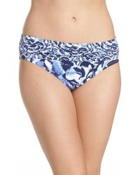 Tommy Bahama | Pansy Petal Brief Bikini Bottoms | Lyst