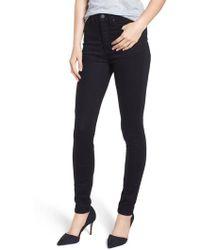 Caslon - Caslon Sierra High Waist Skinny Jeans - Lyst