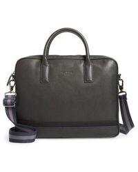 Ted Baker - Lowmee Leather Briefcase - Lyst