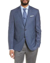 Ted Baker - Jay Trim Fit Check Wool Sport Coat - Lyst