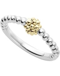 Lagos - Caviar Icon Stacking Ring - Lyst