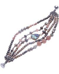 Nakamol - Beaded Multistrand Bracelet - Lyst