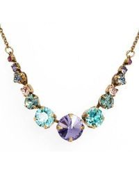 Sorrelli - Crystal Collar Necklace - Lyst