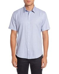 Zachary Prell - Zimmerman Check Sport Shirt - Lyst
