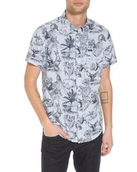 RVCA   Aloha Woven Shirt   Lyst