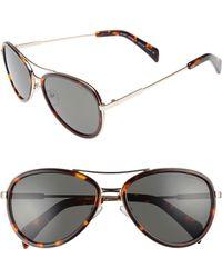 Draper James - 58mm Aviator Sunglasses - - Lyst