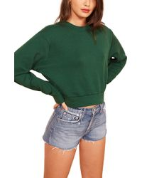 Reformation - Hunter Sweatshirt - Lyst