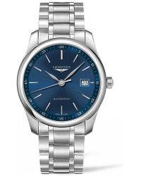 Longines - Master Automatic Bracelet Watch - Lyst