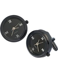 Link Up - Watch Face Cuff Links - Lyst