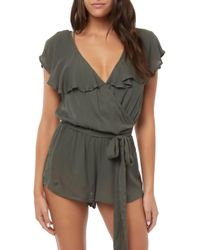 O'neill Sportswear - Dash Cover-up Romper - Lyst