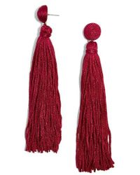 BaubleBar - Valencia Shoulder Duster Tassel Earrings - Lyst