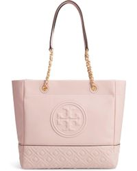 bcfa1e78c2f Tory Burch Fleming Diamond-quilted Swing-pack Tote Bag - Brass ...