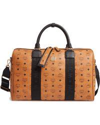 MCM - Traveler Visetos Duffle Bag - - Lyst