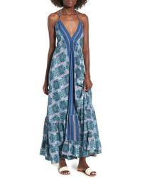 Raga - Poetic Dreams Halter Maxi Dress - Lyst