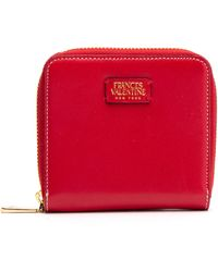 Frances Valentine - Roosevelt Small Calfskin Leather Wallet - - Lyst