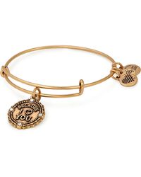 ALEX AND ANI - Sister Expandable Wire Bangle Bracelet - Lyst