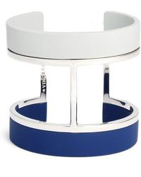 Vince Camuto - Colorblocked Wide Cuff - Lyst