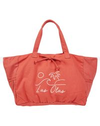 Billabong - X Sincerely Jules Olas Canvas Tote - - Lyst