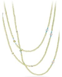 David Yurman - Mustique Tweejoux Beaded Necklace - Lyst