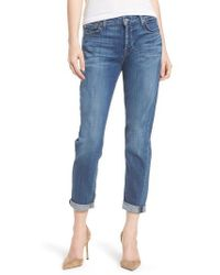 7 For All Mankind - 7 For All Mankind Josefina Boyfriend Jeans - Lyst