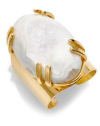 Nakamol | Drusy Agate Adjustable Ring | Lyst