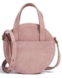 Madewell - Juno Circle Leather Crossbody Bag - Purple - Lyst