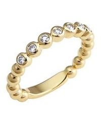 Lagos | Covet Stone Caviar Stack Ring | Lyst