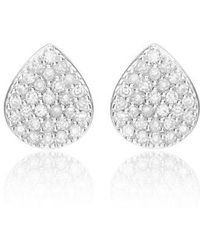 Monica Vinader - Alma Diamond Stud Earings (special Purchase) - Lyst